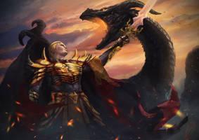 Aegon The Conqueror by RobotDelEspacio