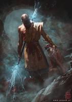 D3 - Monk by RobotDelEspacio