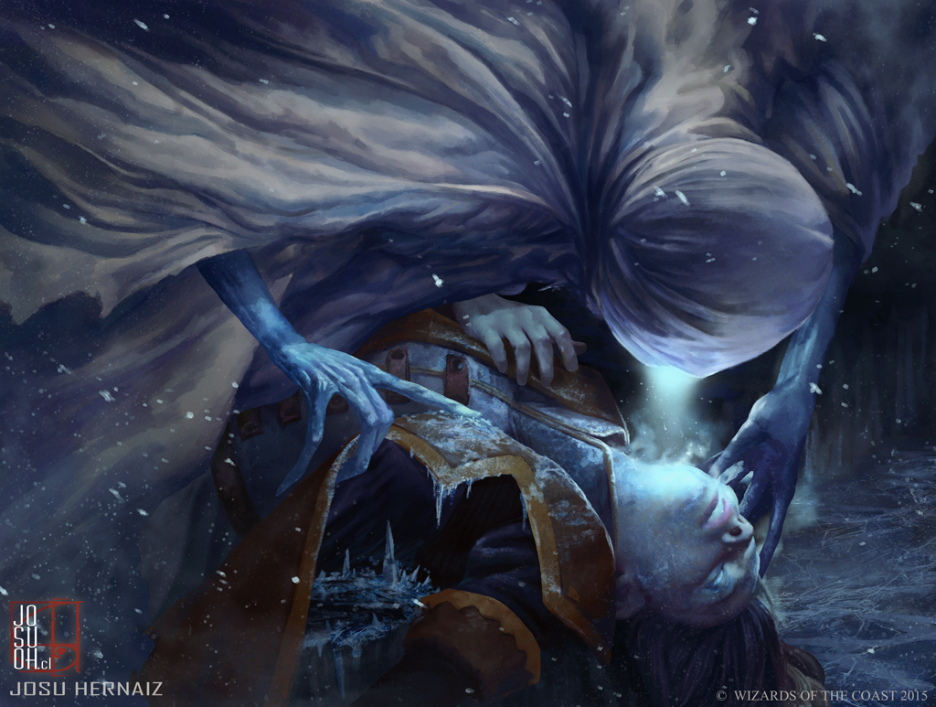 Niblis of frost by robotdelespacio on deviantart - Eldritch wallpaper ...