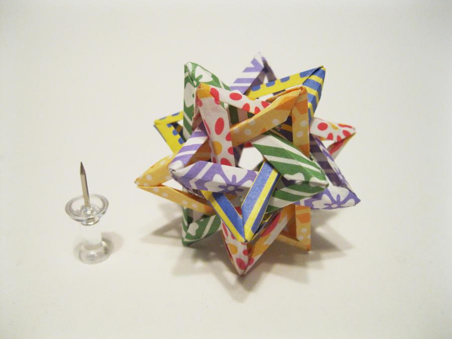 Tiny Tetrahedra by iSparkthefox