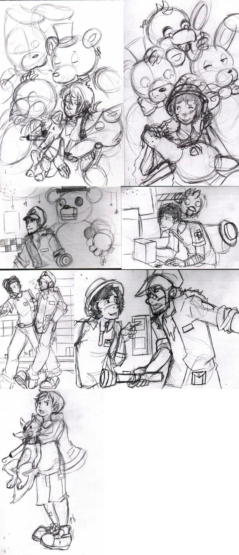 sketchup 11-8-2014 human interaction by DeviousVampire