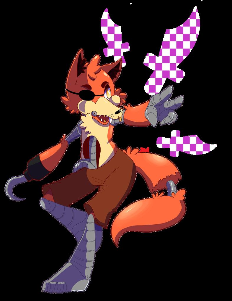 FNaF Chibis: Foxy by DeviousVampire
