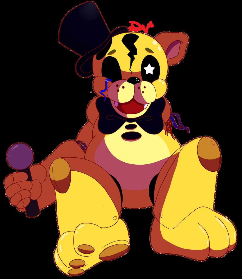 Golden Freddy by DeviousVampire