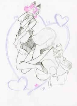 Sketch trades: Vicky Voss