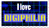 I love DIGIPHILIA Stamp by Snail-Guy