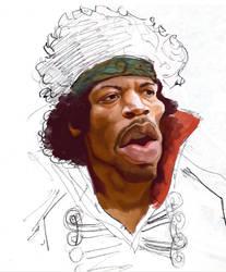 Jimmi Hendrix by fake173