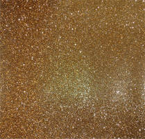Gold Glitter Paper by Aquastock