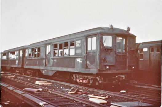 1967 - Brooklyn - Coney Island Yard - scrap line