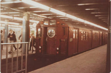 1971 - Grand Central - Shuttle platform