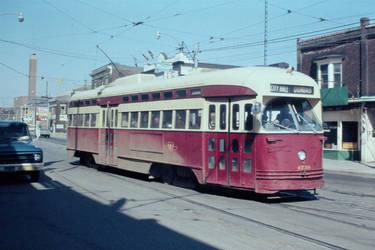 1974 - Toronto - Roncesvalles at Dundas
