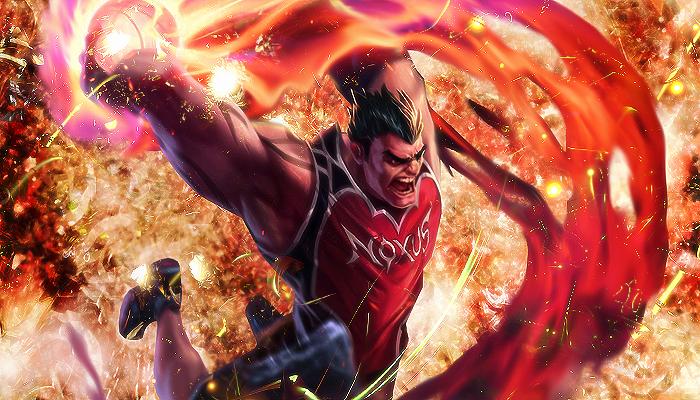 League Of Legends Dunk Master Darius By Sechsgraff On Deviantart