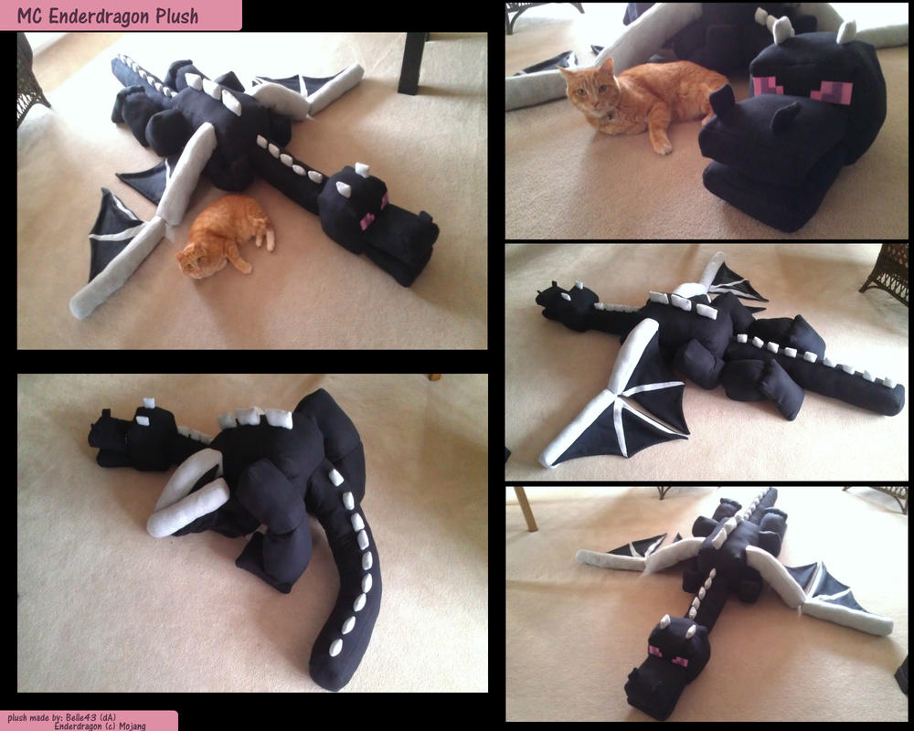 Enderdragon Plush By Belle43 Artisan Crafts Dolls Plushies