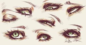 Eyes by Ryxner