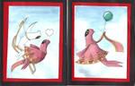Journey Greeting Cards by LaSpliten