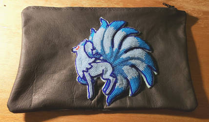 Ninetales pencil pouch by LaSpliten