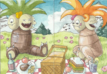 Autumn and Summer Picnic by LaSpliten