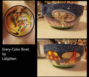 Every Color Bowl by LaSpliten