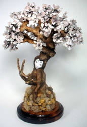 Cherry Blossom Tree Spirit by mysticalis