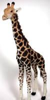 Felted giraffe