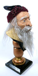 Tutorial Wizard Bust by mysticalis