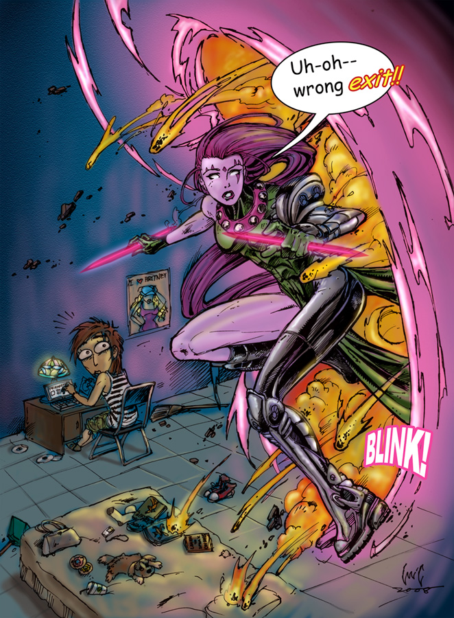 Blink from Age of Apocalypse X Men Age Of Apocalypse Blink