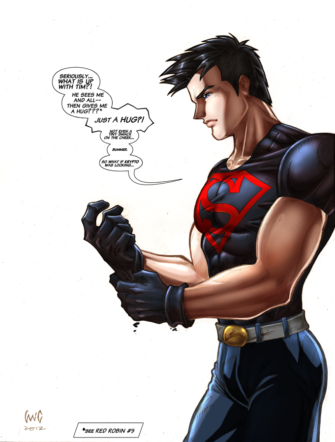 Superboy in 'Super Disappointment' by snoozzzzzz