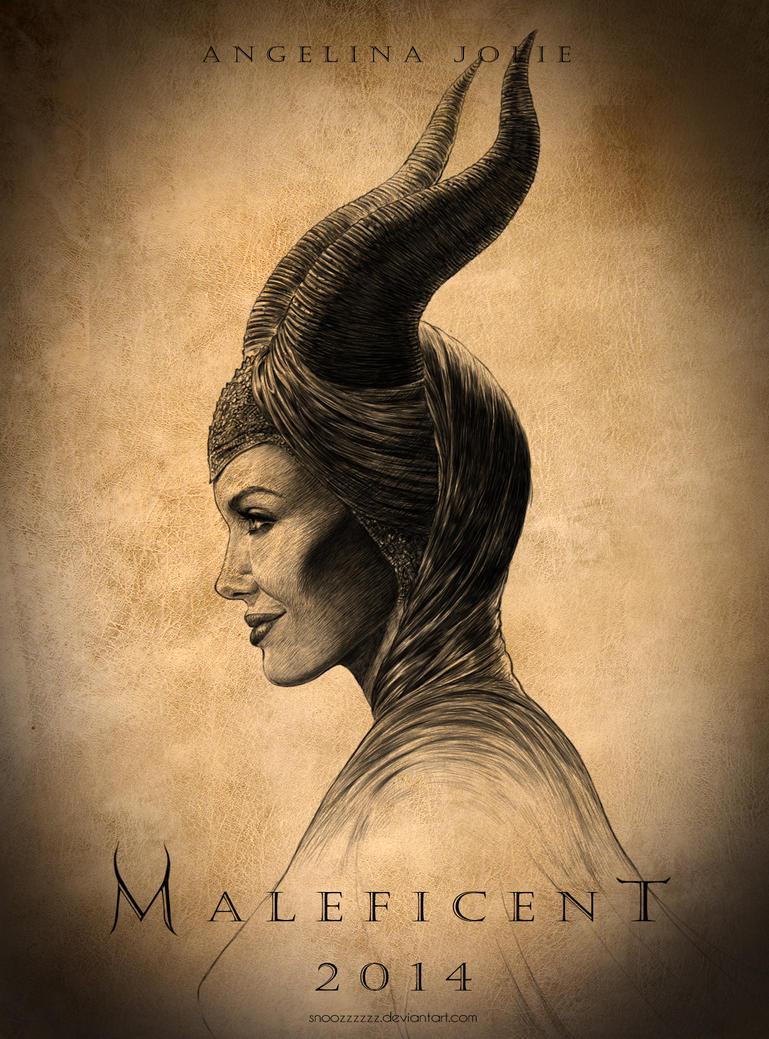 Maleficent by snoozzzzzz