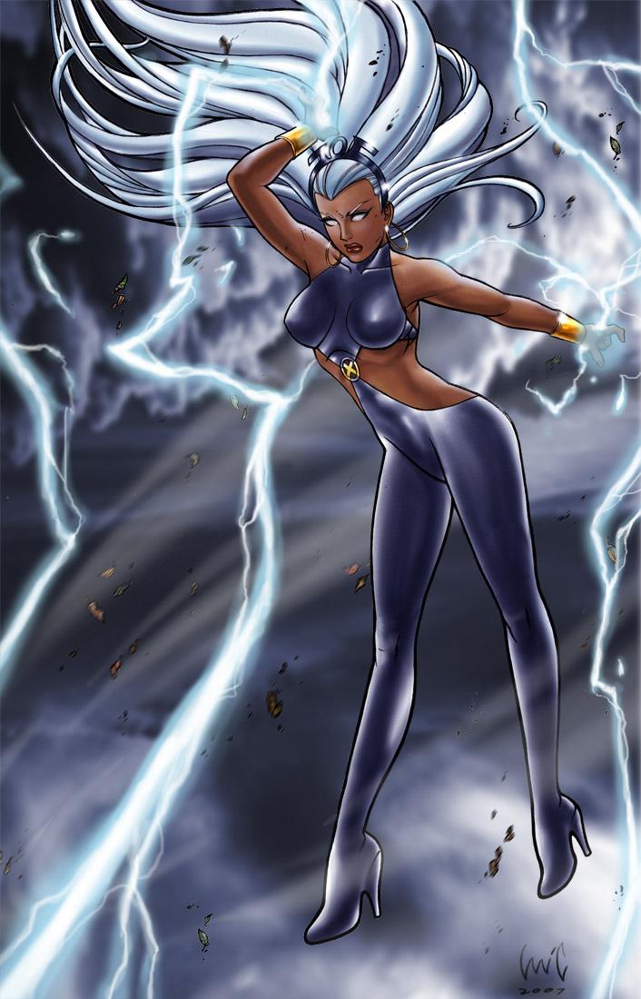 Ororo Monroe aka Storm by snoozzzzzz on DeviantArt