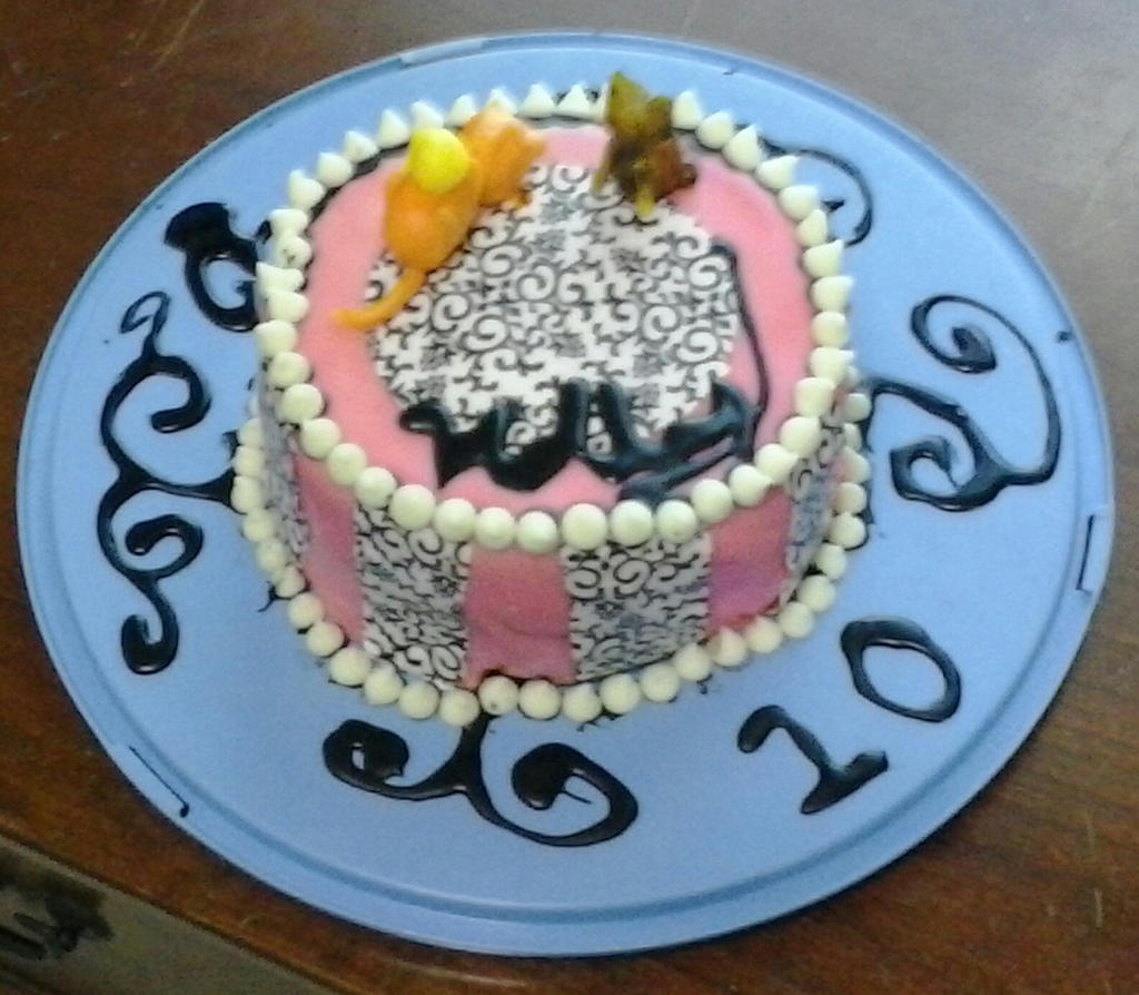Birthday Cake Pic For Little Sister : Little Sister s Birthday Cake by NightwishArts920 on ...