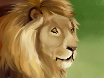 Lion by HederaHiberna