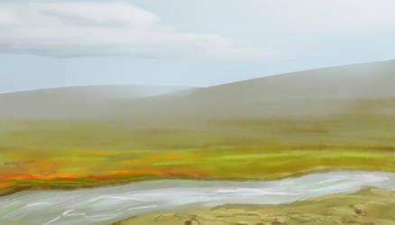 Landscape attempt by HederaHiberna
