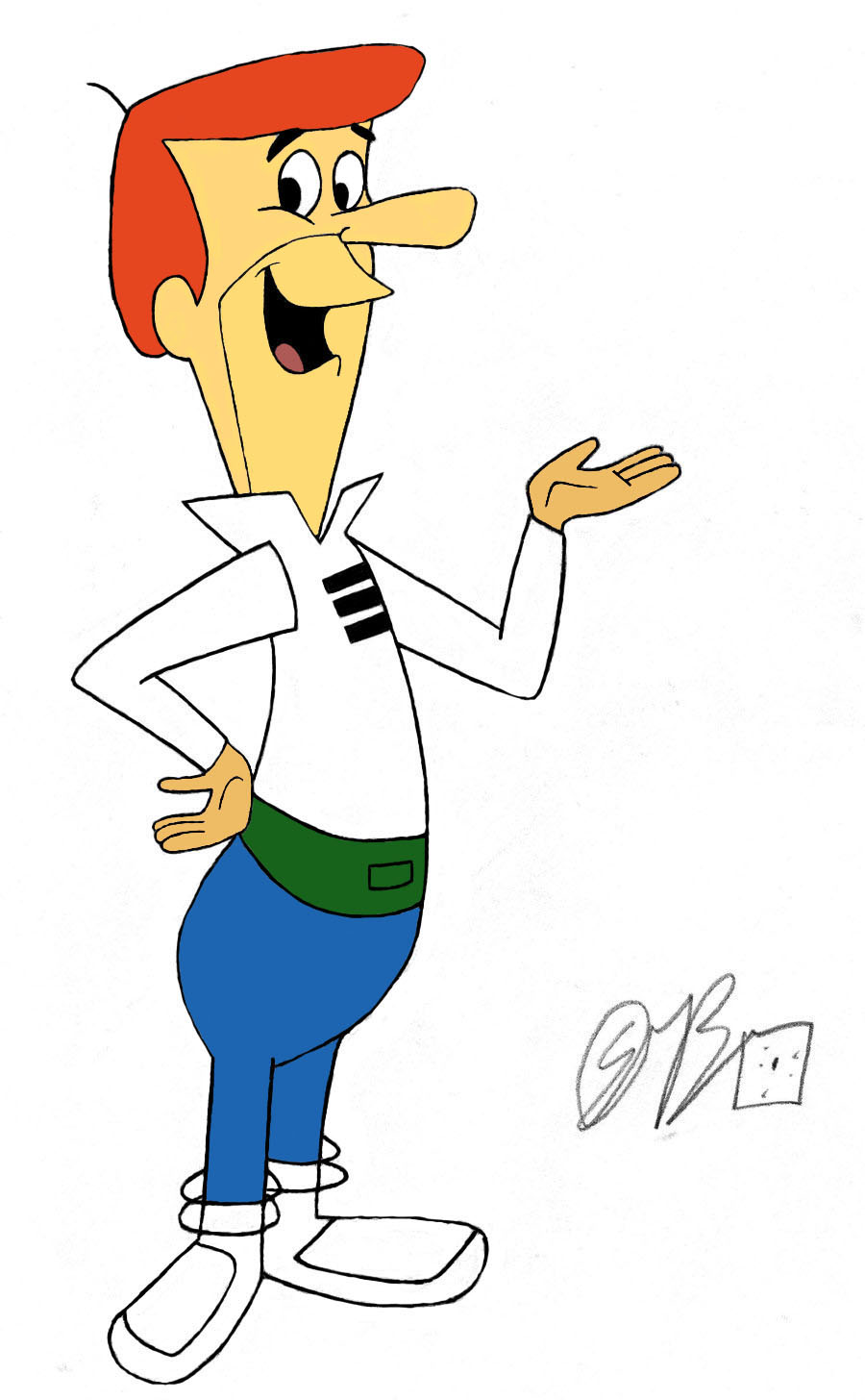 Cartoon Characters Jetsons : George jetson