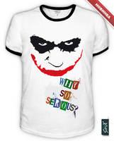 Joker T-Shirt by Sir-SiriX