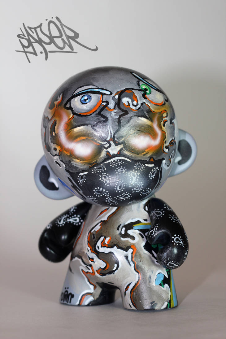 Saper - Munny Custom by Sir-SiriX