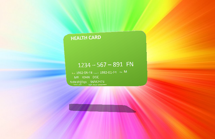 Health Card 3D Model by SonAmyFan362