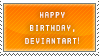 Happy Birthday, DeviantART