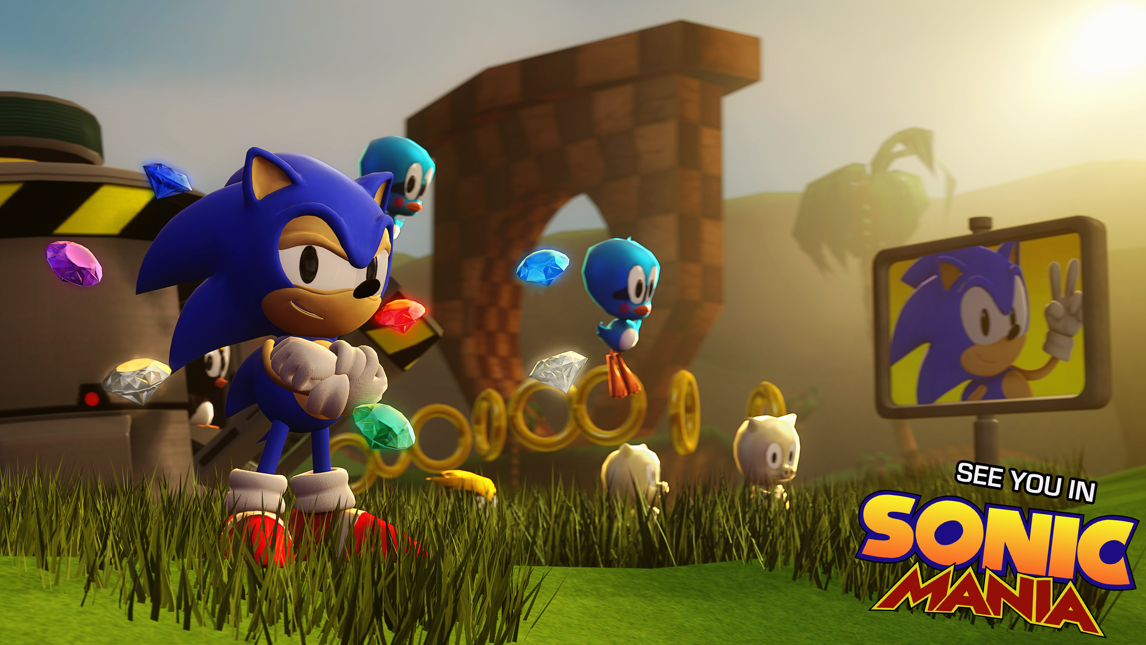 248 Sonic the Hedgehog HD Wallpapers  Background Images