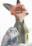 Zootopia- Nick and Judy