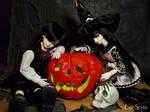 Halloween 2016 - Hiroki and Akane by LilySkadi