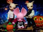 Halloween 2016 - Dean, Shirley and Sam by LilySkadi