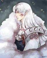 Lord Sesshomaru by Moonie-Loonie