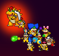 Koopa Family by Chrispriter89