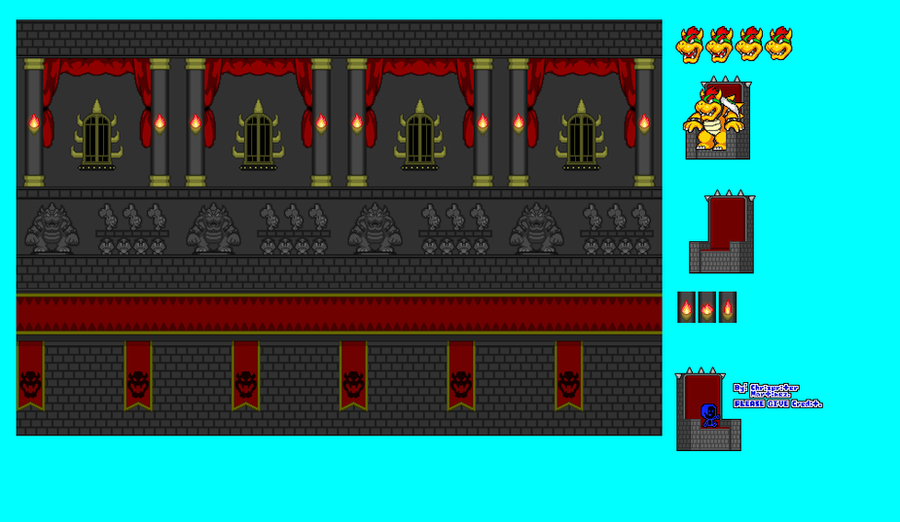 Bowser S Throne Room