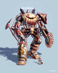 'Schlitzie' The Giant Carnival Mech... of DOOM