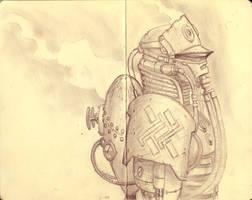 Steampunk SS by AOPaul