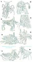 DomWarIV Character sketches