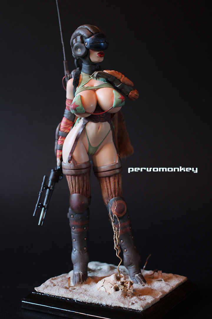 Post Apoc chick 2 by AOPaul