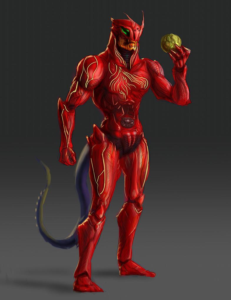 Kamen Rider ZO Doras (Red Version) by AOPaul