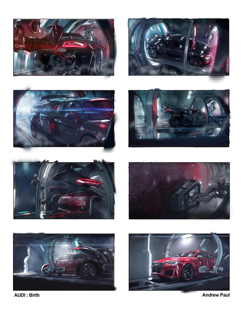 Audi Birth 2 by AOPaul