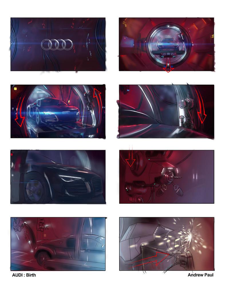 Audi Birth 1 by AOPaul